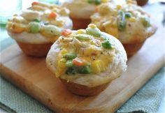 Chicken Pot Pie | 31 Fun Treats To Make In A Muffin Tin