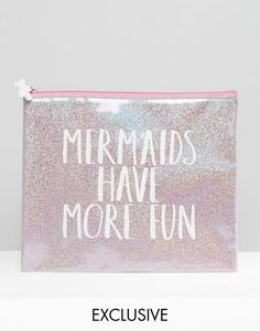Paperchase | Paperchase Mermaid Pouch at ASOS