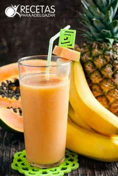 ¡Pierde peso con este potente jugo quemagrasa,diurético y antioxidante! #ProteinShakes