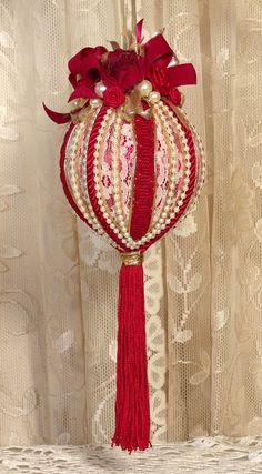 Victorian Christmas Ornaments | Handmade VICTORIAN CHRISTMAS Ornament | Oh christmas tree oh christma ...