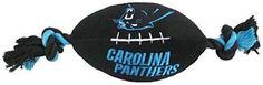 NFL Carolina Panthers Football Pet Plush Toy