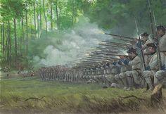Flintlock and tomahawk: Battle of Lake George 1755