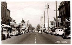 Los Gatos, California, Santa Cruz Ave., 1940s by aldenjewell, via Flickr