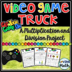 Project Based Learning (PBL) - This multiplication and division project was…