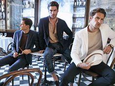 Jon, Shaun and Florian for Massimo Dutti 689 5th Avenue