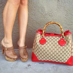 I love the shoes and bag