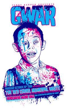 GWAR Poster 2 by angryblue.deviantart.com on @deviantART
