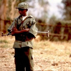 Child Soldier reflects