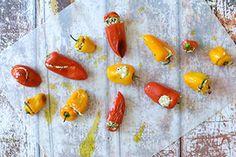 Qooking.ch | Petits poivrons farcis