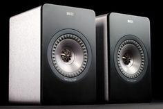 KEF X300A Active Monitor Bookshelf Speakers