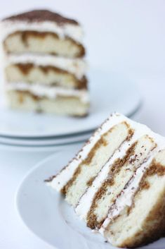 Tiramisu Cake to tempt your tummy and lift your spirits. Italian Desserts, Just Desserts, Cake Recipes, Dessert Recipes, Pastry Recipes, Cooking Recipes, Brownies, Tiramisu Cake, Paper Cake