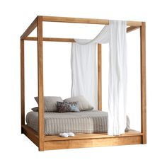 awesome Platform Canopy Bed