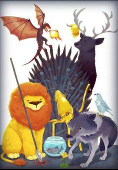 Fondo de juego de tronos