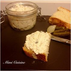 Rillettes de poulet Recette Thermomix Kitchenaid, Mini Burgers, Cooking Chef, Monkey Bread, French Food, Charcuterie, Family Meals, Tapas, Brunch
