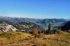 View onto Gstaad, Switzerland