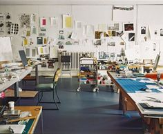 Rachel Whiteread studio via Tate.