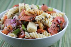 Italian Pasta Salad Recipe | Free Delicious Italian Recipes | Simple Easy Recipes Online | Dessert Recipes