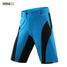 WOSAWE MTB Road Leisure Baggy 3D Padded Mens Cycling Shorts without Pad  Mountain Bike Bicycle MTB 8c4a834bf