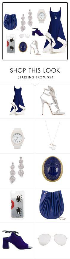 """Midi Dress..**"" by yagna ❤ liked on Polyvore featuring Esteban Cortazar, Giuseppe Zanotti, Nixon, Scosha, Kate Spade, Iphoria, M.A+, 3.1 Phillip Lim, Yves Saint Laurent and vintage"