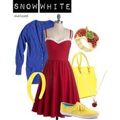 #SnowWhite #Disney #Polyvore