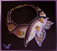 Бисерные ожерелья Сидиной Ирины