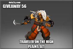Giveaway 56 - Traveler on the High Plains Set