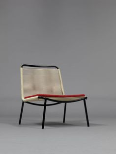 Pair of armchairs 151 by André Monpoix - Meubles TV edition | From a unique collection of antique and modern armchairs at https://www.1stdibs.com/furniture/seating/armchairs/