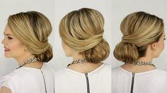 Wrapped Low Bun | Prom Hairstyle