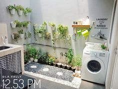 Small Room Design, Home Room Design, Laundry Room Design, Home Interior Design, Minimalist House Design, Minimalist Home, Room Ideas Bedroom, Home Decor Bedroom, Outdoor Laundry Rooms