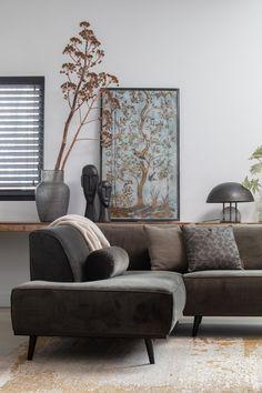 Cozy Living Rooms, Home Living Room, Living Area, Modern Interior, Home Interior Design, Decoration, Diy Home Decor, New Homes, Couch
