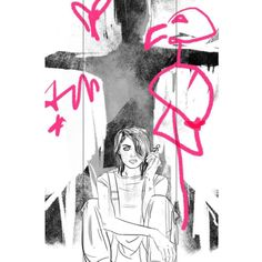 tulalotay:  Sketch for my Slash and Burn #4 cover