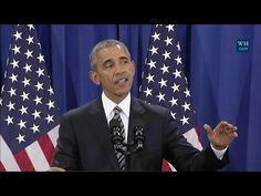 12-07-2016  It Wasn't Me: Obama Blames ISIS On Bush, Climate Change and the 2nd Amendment | MRCTV
