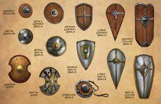 Accessorising Your Fantasy Warrior: Shields, Gauntlets, & Helms