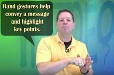 Learn How Hand Gestures Can Improve a Speech