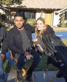 "torresandbishop: ""Wilmer & Emily on set (12/05/17) via Instagram "" Ncis Bishop, Ncis Tv Series, Ncis Gibbs Rules, Ncis Cast, Cop Show, Ncis Los Angeles, Tv Couples, Blue Bloods, Role Models"