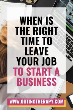 Want to leave your job to start a business, but are afraid of the financial implications of actually leaving your job? If so, this blog post was especially written with you in mind. So keep reading to find out when the right time to leave your job to start a business is, and how to make it work for you. Leave your job at work, quit your job, start a business, entrepreneur motivation, entrepreneurship, unhappy at work, when to change careers Entrepreneur Motivation, Business Entrepreneur, Self Development, Personal Development, Unhappy At Work, How To Start A Blog, How To Find Out, Turn Your Life Around, Job Satisfaction
