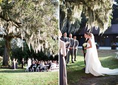 Magnolia Plantation ~The Wedding Row