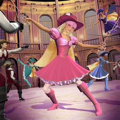 Barbie and The Three Musketeers - Official Stills - Barbie Movies Photo (24680027) - Fanpop