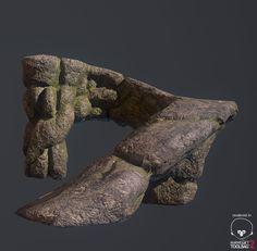 Rock Asset 3d View, Jawad Tariq on ArtStation at https://www.artstation.com/artwork/rock-asset-low-poly