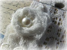 Cheesecloth Flower