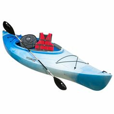 Perception Sport Conduit 9.5 Sit-In Kayak Package White/ Blue-769408 - Gander Mountain  I think this is the one I will get!