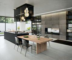 kitchen island design marble - Google Search