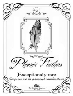Pheonix Feather Label, via Flickr.