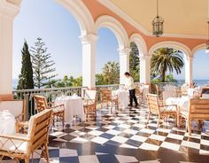 Afternoon Tea at Reids Belmont Palace Funchal