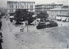 Valparaiso. Remodelación o transformación de la Plaza Echaurren, 1910