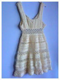 vestito uncinetto, crochet dress