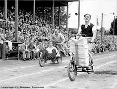 Copenhagen Cargo Bike Race 1950 by Mikael Colville-Andersen, via Flickr