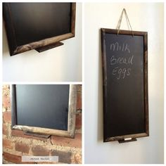 Large Rustic Chalkboard (Color Options), Kitchen Chalkboard, Rustic Chalkboard, Wedding Chalkboard,, Chalkboard on Etsy, $42.75
