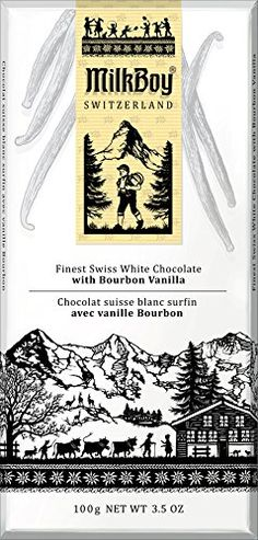 Milkboy Swiss Chocolate White Chocolate with Bourbon Vanilla 35 Ounce Pack of 10 * Find out more about the great product at the image link.