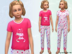 Cat Pyjamas for girls.